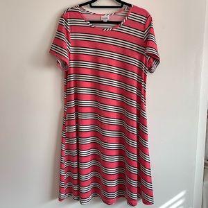 ⭐️3/$25⭐️ Lularoe Jessie T shirt dress w/ pockets